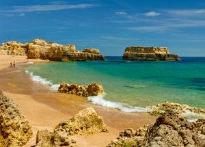 Praia do Castelo Albufeira, Algarve, beach