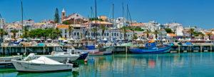 Lagos harbour, Algarve, Portugal