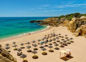 Praia do Castelo beach, Albufeira