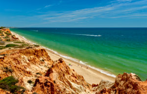 Praia da Falesia, Albufeira, Algarve, Portugal