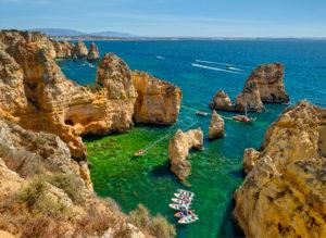 Ponta da Piedade, Lagos, the Algarve,