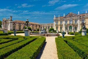 Queluz Palace gardens