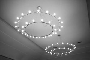 Imposing ceiling lighting