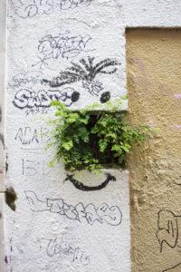 Detailaufnahmen aus den  Gassen Lissabons,