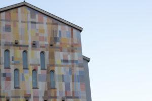 Bunte Kirche in Bozen,