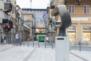 Impressions of the European Capital of Culture 2020 Rijeka, Croatia.