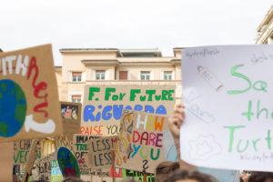 Fridays for Future in Bolzano, South Tyrol.