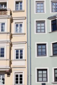 Häuser in Innsbruck.