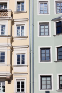 Houses in Innsbruck.