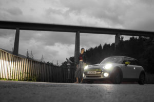 Test drive with the electric Mini Cooper SE