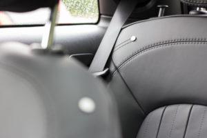 Innenraum des elektrischen Mini Cooper SE