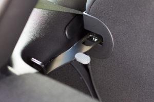 Im Kofferraum des elektrischen Mini Cooper SE