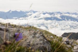 Perspektiven vom Hafelekar an der Nordkette oberhalb von Innsbruck