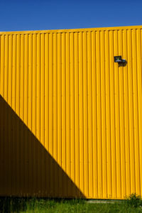 Symbol / Concepts, Yellow wall of small panel house