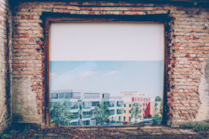 old building, wall, picture, living space, town planning