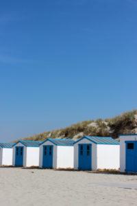 Niederlande, Texel, Strandhäuser