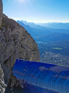 View from the Karwendel to Mittenwald