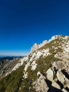 on the Karwendel
