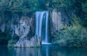 Kroatien, Mittelkroatien, Plitvicka Jezera, Nationalpark Plitvicer Seen, Obere Seen