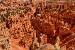 USA, Utah, Garfield County, Bryce Canyon Nationalpark, Sonnenuntergangspunkt, Amphitheater, Stille Stadt