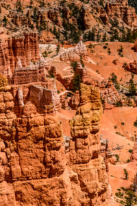USA, Utah, Garfield County, Bryce Canyon National Park, Sunrise Point, Amphitheater mit Queens Garden