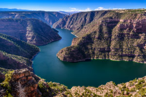 The USA, Utah, Dagett county, Manila, Flaming Gorge, Red canyon
