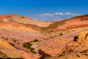 USA, Nevada, Clark County, Overton, Valley of Fire State Park, Pink Canyon