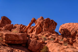 USA, Nevada, Clark County, Overton, Valley of Fire State Park, Elephant Rock