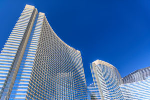 USA, Nevada, Clark County, Las Vegas, Las Vegas Boulevard, The Strip, CityCenter, Aria Resort and Casino