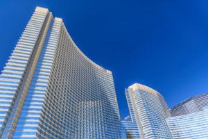 USA, Nevada, Clark County, Las Vegas, Las Vegas Boulevard, The Strip, CityCenter, Aria Resort and Casino