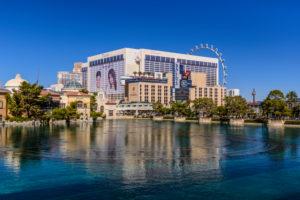 US, Nevada, Clark County, Las Vegas, Las Vegas Boulevard, The Strip, Flamingo Hotel and Ballys