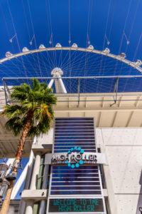 US, Nevada, Clark County, Las Vegas, Las Vegas Boulevard, The Strip, The Linq, Ferris Wheel