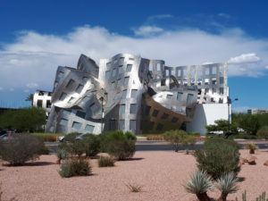 USA, Nevada, Clark County, Las Vegas, West Bonneville Avenue, Cleveland Clinic, Lou Ruvo Center for Brain Health