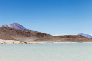 Bolivia, Eduardo Abaroa Andean Fauna National Reserve, landscape, lake