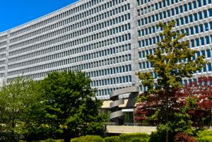 Sitz der Internationalen Arbeitsorganisation, ILO, Genf, Schweiz