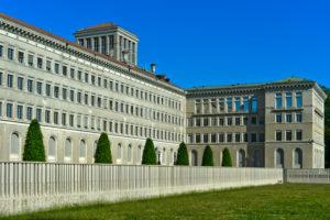 William Rappard-Zentrum,  Centre William Rappard, heute Sitz der Welthandelsorganisation, WTO in Genf, Schweiz