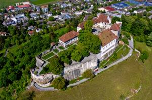 Lenzburg Castle, Lenzburg City, Canton of Aargau, Switzerland
