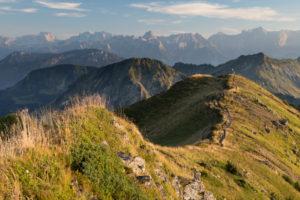 Crest, way, summit, mountains