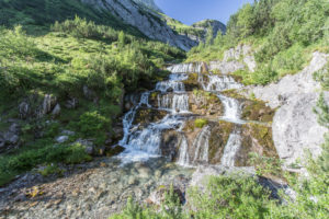 Waterfall, Lech, brook