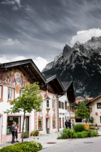 Painted houses in Mittenwald
