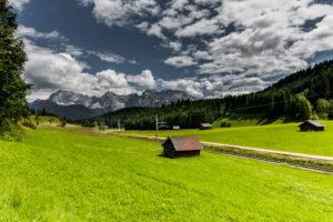Landschaft im Werdenfelser Land