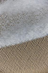 Salzwasser am Strand