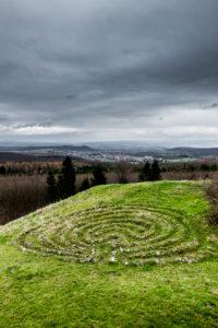Stone labyrinth 'Helfensteine'