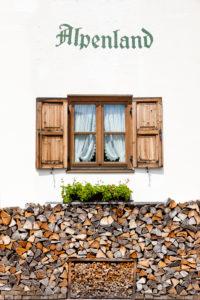 Typisch Bayrisches Fenster