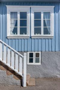 Blaues Haus in Schweden