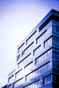 Modernes Gebäude in Luxemburg Stadt