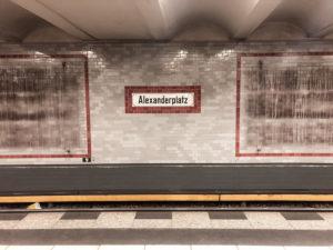 Alexanderplatz Berlin Mitte subway station