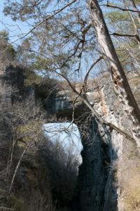 Natürliche Brücke in  Rockbridge County, Virginia, USA, National Register of Historic Places