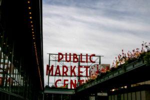 USA, Seattle, Tourismus, Sehenswürdigkeit, Public Market Center