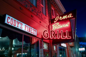 Irma restaurant in Cody Wyoming USA Yellowstone National Park